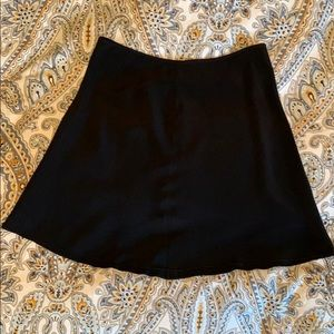 INC Silk Slirt with Caviar Beaded Hem